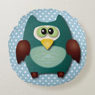 Cute owl cartoon cushion