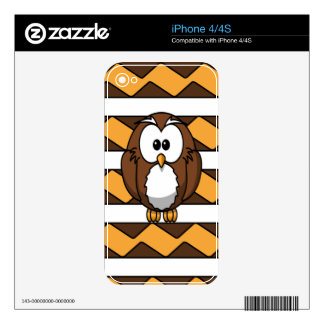 cute owl cartoon skins for the iPhone 4S