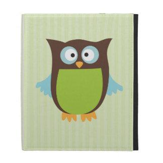 Cute Owl iPad Folio Covers