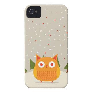 Cute owl Case-Mate iPhone 4 cases