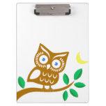 Cute Owl Clipboard