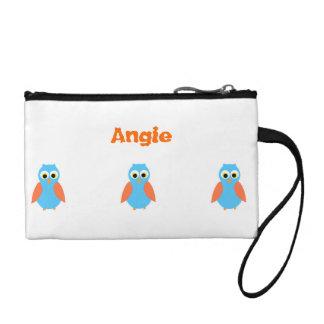 Cute Owl Clutch bag