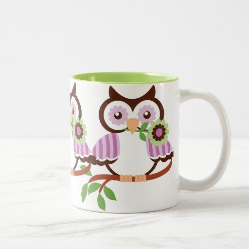 Cute Owl Coffee Mug Zazzle