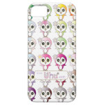Cute Owl: Colorful Buju Selection iPhone 5 Cover