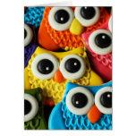 Cute Owl Cookies Card