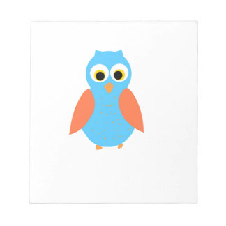 Cute Owl customizable products Memo Notepad