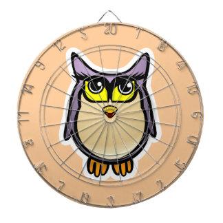 Cute Owl Dartboards