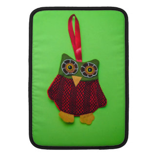 Cute owl decoration MacBook air sleeve