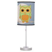 Cute Owl Desk Lamp