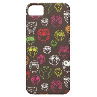Cute owl doodle pattern iPhone SE/5/5s case