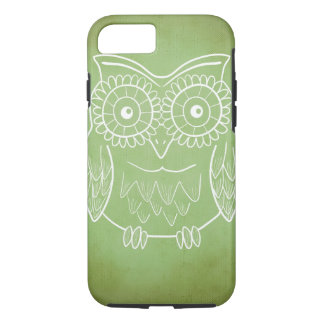 Cute Owl Drawing iPhone 7 Case