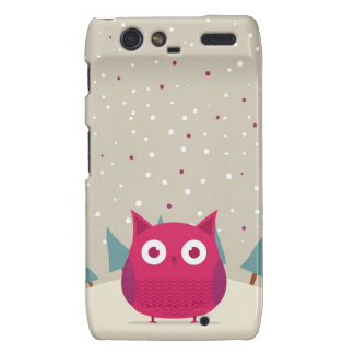 Cute owl droid RAZR covers