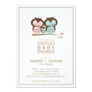 Couples Baby Shower Invitations, 500+ Couples Baby Shower ...