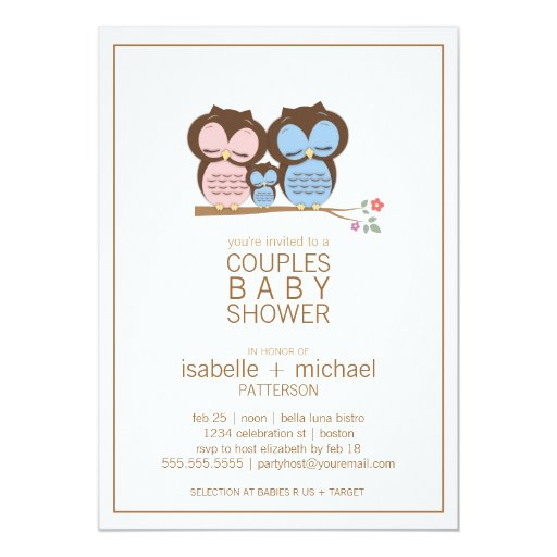 Couples Baby Shower Invite was good invitations design