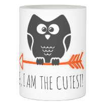 Cute Owl Flameless Candle