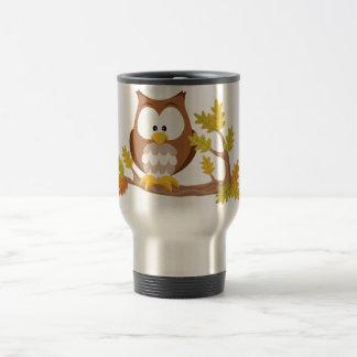 Cute Owl forest series Travel Mug
