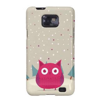 Cute owl galaxy s2 cover