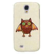 Cute Owl Galaxy S4 Case