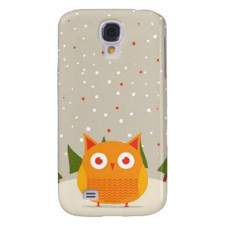 Cute owl galaxy s4 cases