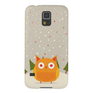 Cute owl galaxy s5 cases