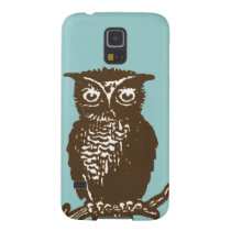 Cute Owl Galaxy S5 Cover