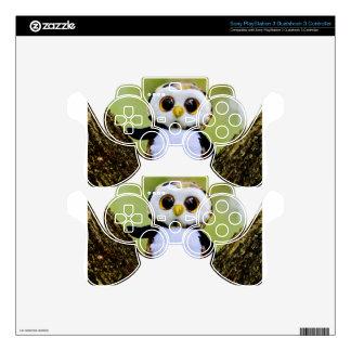 Cute Owl Glitter PS3 Controller Decals