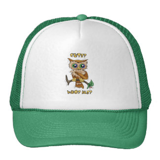 Cute Owl Mesh Hat