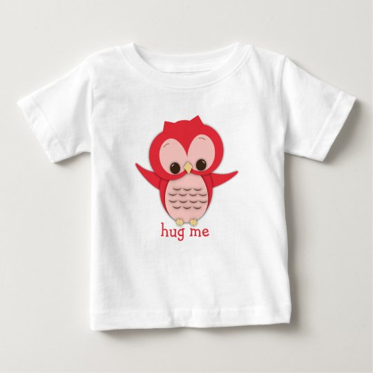 Cute Owl Hug Me T-Shirt
