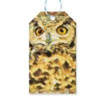 Cute Owl Illustration Gift Tags
