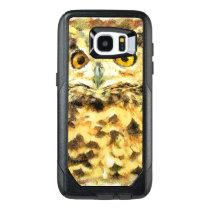 Cute Owl Illustration OtterBox Samsung Galaxy S7 Edge Case