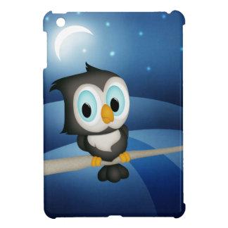 Cute Owl in Moonlight iPad Mini Case