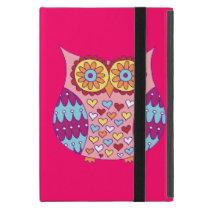 Cute Owl iPad Mini Case with Kickstand