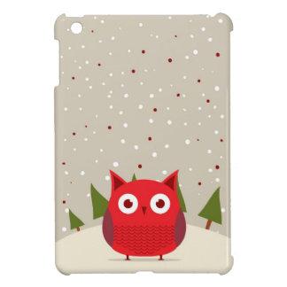 Cute owl iPad mini cover