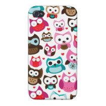 Cute owl iphone 4 case