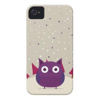 Cute owl iPhone 4 Case-Mate case