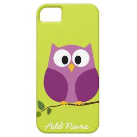 Cute Owl iphone 5 Cartoon iPhone 5 Case