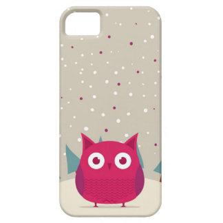 Cute owl iPhone 5 cover
