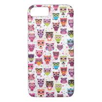 Cute owl iPhone 7 case