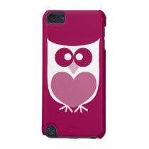 Cute Owl Ipod Case