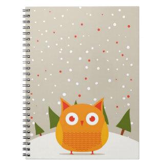 Cute owl journals