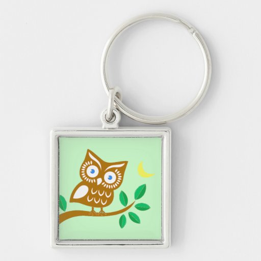 Cute Owl Key Chains
