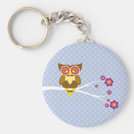 Cute owl keychain