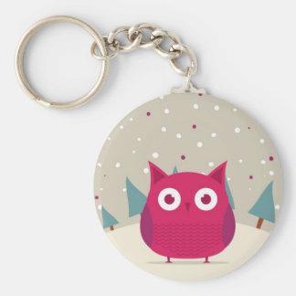 Cute owl keychains