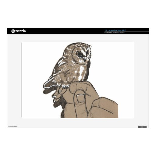Cute Owl Laptop Skin