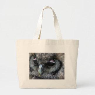 Cute Owl Large Tote Bag