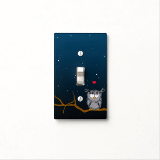 Cute Owl Light Switch Cover