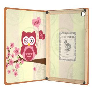 Cute Owl Love iPad Air Covers