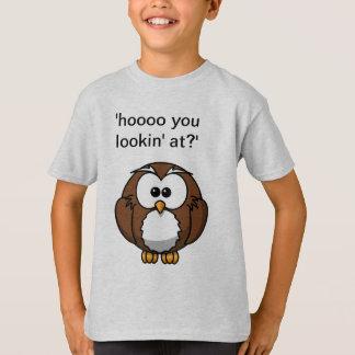 Cute Owl Love T-Shirt