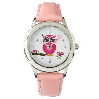 Cute Owl Love Wrist Watch