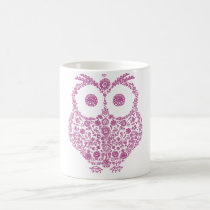 CUTE OWL LOVERS GIFT COFFEE MUG